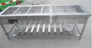供应爱帮厨牌厨房设备不锈钢六格保温售饭台