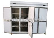 世瑞八門廚房冷柜 不銹鋼雙機雙溫冰柜
