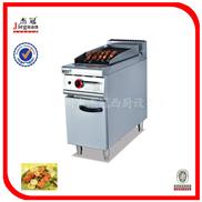 GB-979-立式燃气火山石烤炉连柜座