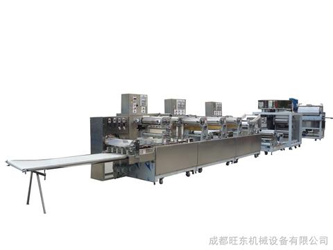 成都旺东供应WD-9550型全自动压面机/面皮机/挂面机