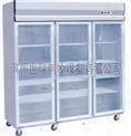 世瑞三门不锈钢展示柜 水果茶叶冷藏柜