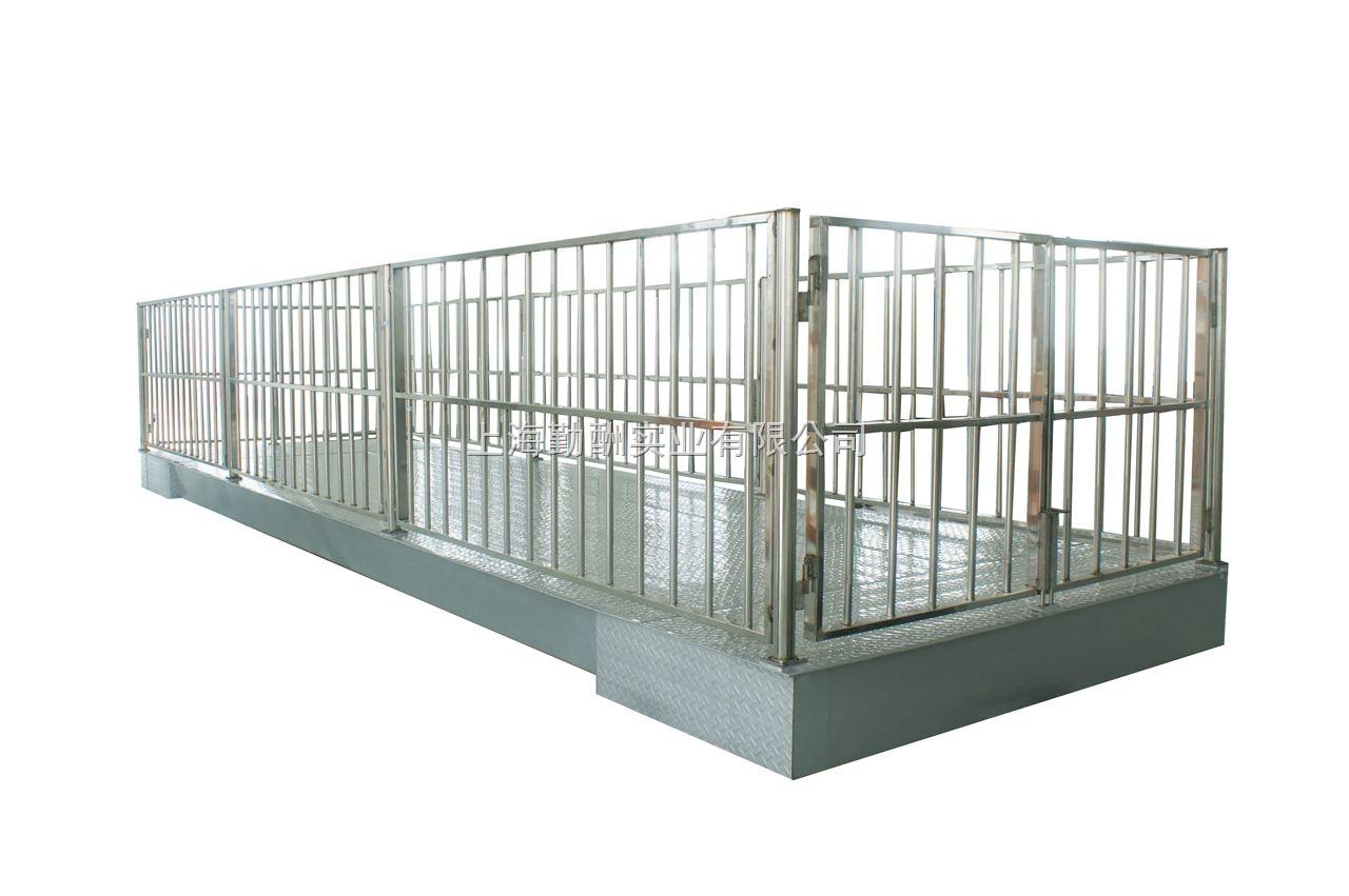 1t牲畜秤-不锈钢 不锈钢动物专用地磅-供求商机-上海