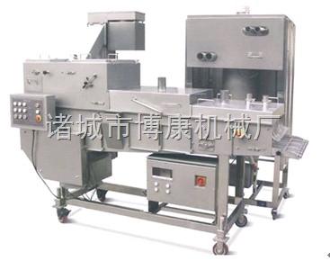 厂家直销——肉饼、鱼排专用裹粉机,裹玉米淀粉机