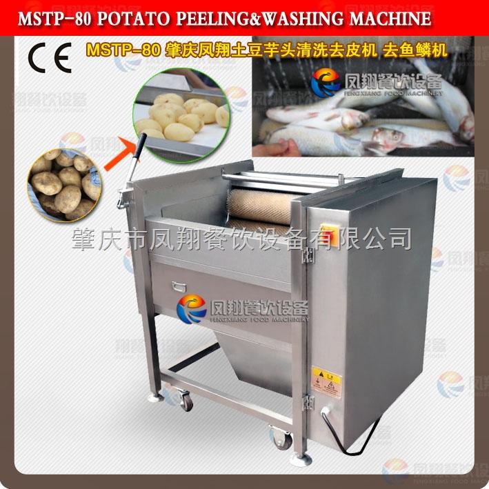 土豆去皮机 芋头去皮机 萝卜清洗去皮机 去鱼鳞机 松茸清洗机