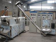 TSE65双螺杆江米条膨化机油炸酥脆面食生产线