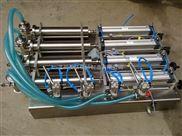G4WYD半自动四头液体灌装机 风油精瓶装灌装机