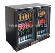 双门台下式酒水柜 双门饮料柜