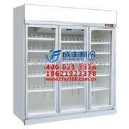 成丰 风冷玻璃门保鲜柜 展示柜 制冷设备 保鲜冷藏设备