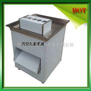 河南郑州洛阳大型腊肉切肉条机,五花肉切片机,牛扒猪扒鸡扒切割机