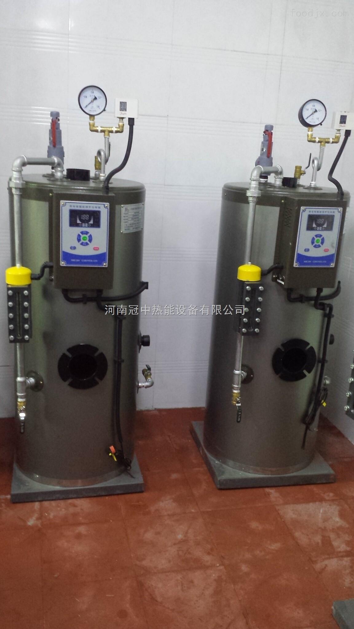 燃气蒸汽发生器是一种小型燃气蒸汽锅炉