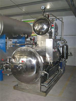 1000-2200蒸汽式双锅并联式杀菌锅