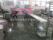 MPJ-5米-鱼豆腐加工设备、鱼豆腐抹盘机、鱼豆腐自动装盘流水线