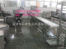 鱼豆腐加工设备、鱼豆腐抹盘机、鱼豆腐自动装盘流水线