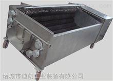 迪凯机械毛辊去皮清洗果蔬清洗生产设备