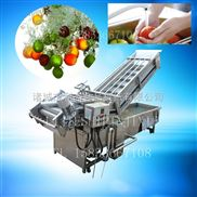 LJQX-2500-橙子气泡清洗机哪家专业 柿子设备低价热销 高压气泡清洗葡萄机厂家