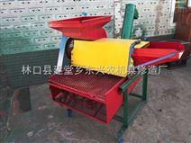 黑龙江小型带振动筛玉米脱粒机