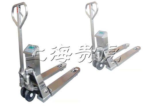 手动液压叉车秤,1吨交直流叉车秤