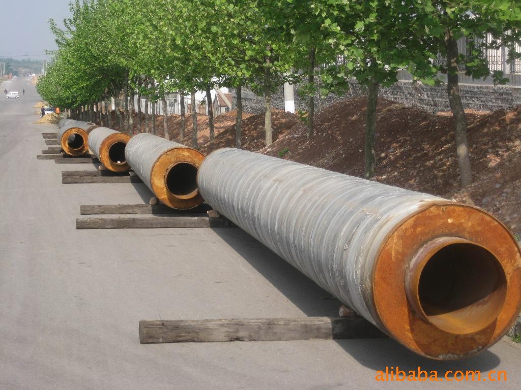 聚氨酯供暖预制泡沫保温管厂家 聚乙烯夹克管报价