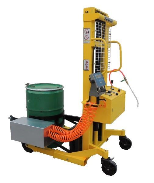 液压搬运车秤 手动搬运堆高车秤 油桶车电子秤