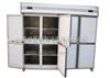 世瑞八门厨房冷柜 不锈钢双机双温冰柜