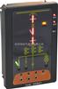 ASD100/THWH1安科瑞开关柜综合测控装置ASD100一次模拟动态图带温湿度控制功能