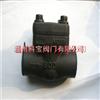 h61h-320/420c锻钢自密封对焊止回阀1/2-3寸